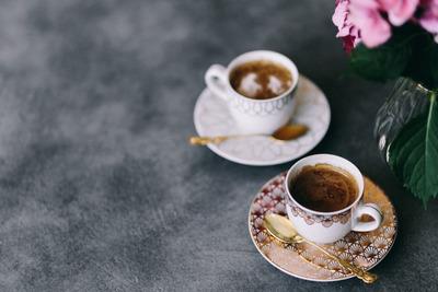 kaboompics_Coffee in the beautiful cups